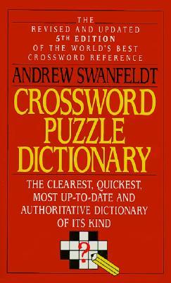Crossword Puzzle Dictionary By Swanfeldt, Andrew